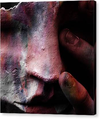 New Colours In Tears  Canvas Print by Empty Wall