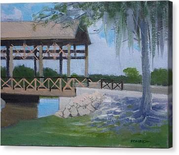 New Covered Bridge Canvas Print by Robert Rohrich