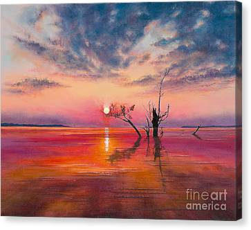 New Dawn Canvas Print by Jeanette French