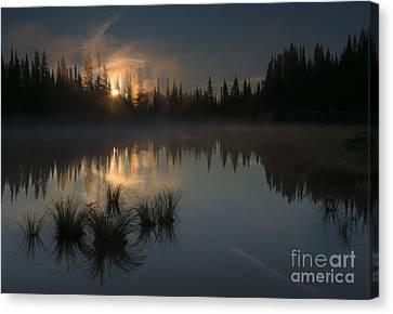 New Day Dawning Canvas Print by Mike Dawson