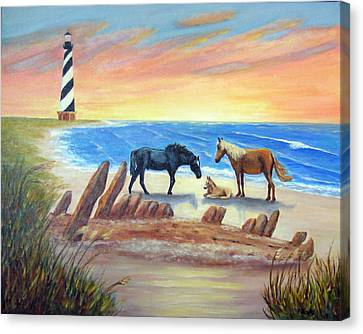 New Day - Hatteras Canvas Print