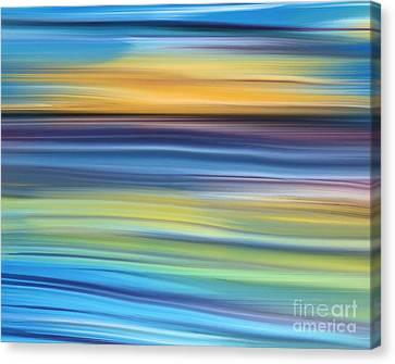 New Day Canvas Print by Hilda Lechuga