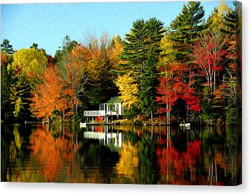 New England Canvas Print by Bill Howard
