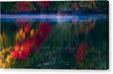 New England Fall Abstract Canvas Print by Dapixara photos