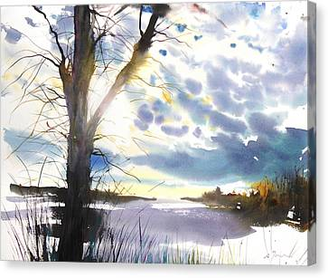 Millbury Canvas Print - New England Landscape No. 218 by Sumiyo Toribe