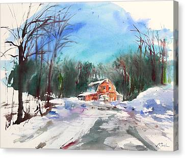 New England Landscape No.217 Canvas Print by Sumiyo Toribe