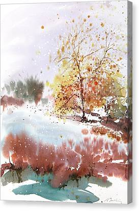 Millbury Canvas Print - New England Landscape No.219 by Sumiyo Toribe