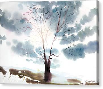 New England Landscape No.220 Canvas Print