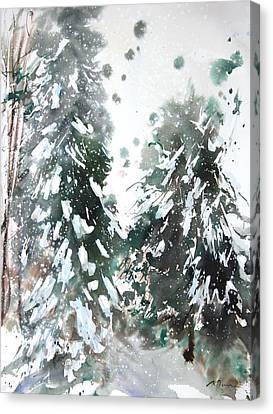 New England Landscape No.223 Canvas Print