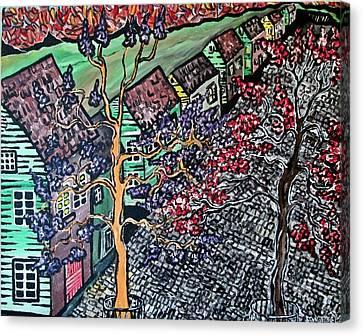 New England Canvas Print by Matthew  James