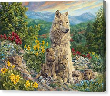 New Generation Canvas Print by Lucie Bilodeau