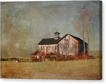 New Hampshire Barn  Canvas Print