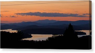 New Hampshire Sunset Canvas Print
