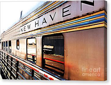 New Haven Canvas Print by Nancy E Stein