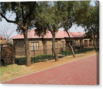 New Homes, Soweto, Johannesburg Canvas Print by Panoramic Images