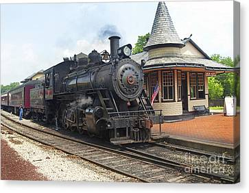 New Hope Station Canvas Print