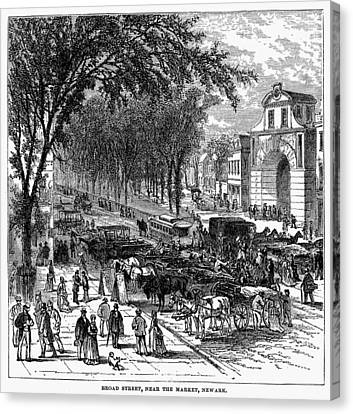 New Jersey Newark, 1876 Canvas Print by Granger