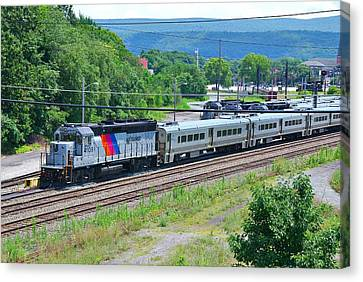 New Jersey Transit 4109 Canvas Print