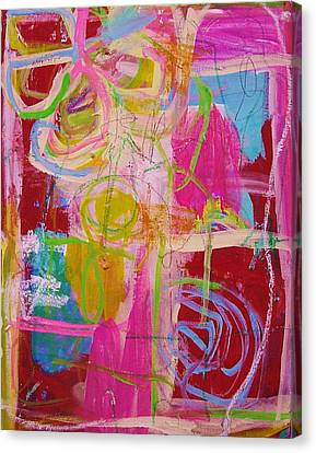 New Kozmos Canvas Print by Kikuko Sakota