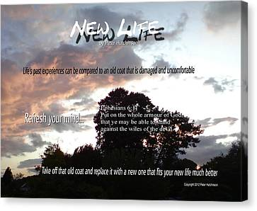 New Life Canvas Print