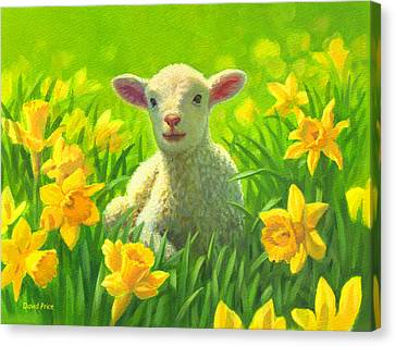 New Life In Spring Canvas Print