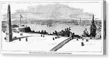 New London, Connecticut Canvas Print by Granger