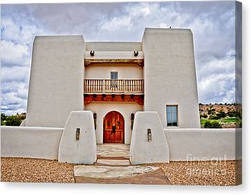 Canvas Print featuring the photograph New Mexican Hideaway by Gina Savage