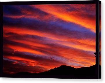 New Mexican Sunrise Canvas Print by Susanne Still