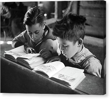 New Mexico School, 1943 Canvas Print by Granger