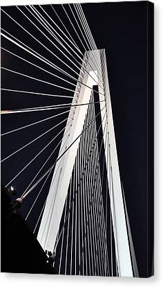 New Mississippi River Bridge Canvas Print by Matthew Chapman