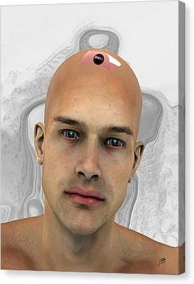 New Model Of Adam Canvas Print