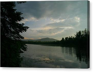 New Morning On Lake Umbagog  Canvas Print by Neal Eslinger