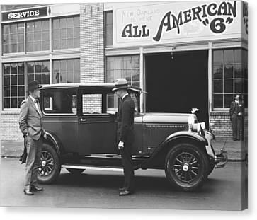 Citizen Canvas Print - New Oakland Automobile by Underwood Archives