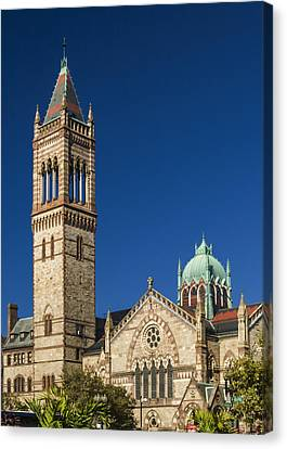 New Old South Church Canvas Print