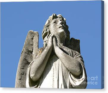 Canvas Print featuring the photograph New Orleans Angel 4 by Elizabeth Fontaine-Barr