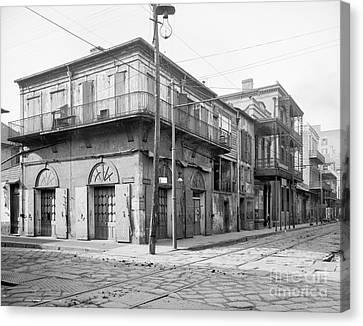 New Orleans: Bar, C1905 Canvas Print by Granger