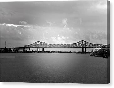 New Orleans Ccc Bridge Canvas Print by Christine Till
