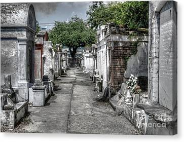 New Orleans Cemetery Canvas Print
