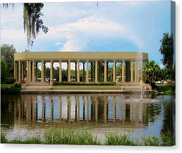 New Orleans City Park - Peristyle Canvas Print