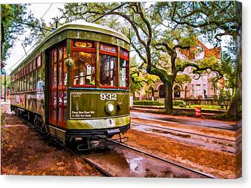 New Orleans Classique Oil Canvas Print