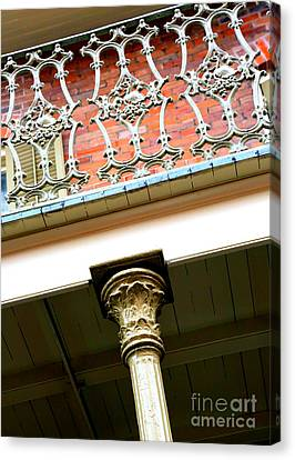 New Orleans Column Canvas Print by Carol Groenen
