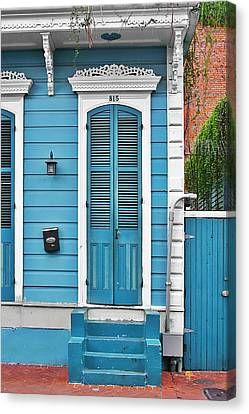 New Orleans Front Door Canvas Print by Christine Till