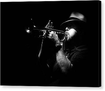 New Orleans Jazz Canvas Print by Brenda Bryant