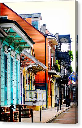 New Orleans Living Canvas Print