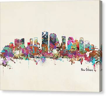 New Orleans Louisiana Skyline Canvas Print