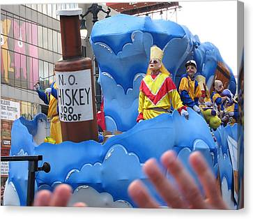 Louisiana Canvas Print - New Orleans - Mardi Gras Parades - 121221 by DC Photographer