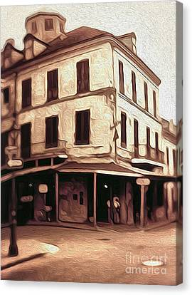 New Orleans - Old Absinthe Bar Canvas Print by Gregory Dyer