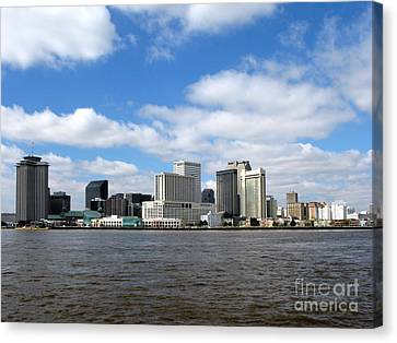 New Orleans Canvas Print by Olivier Le Queinec