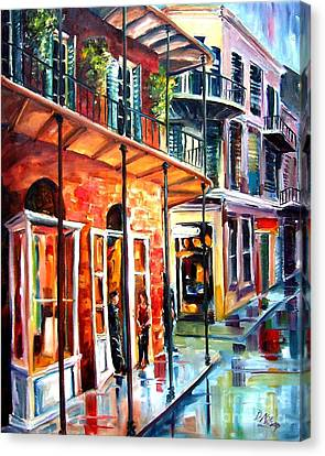 New Orleans Rainy Day Canvas Print by Diane Millsap