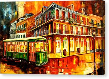 New Orleans Streetcar Canvas Print by Diane Millsap